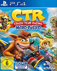 Crash Team Racing Nitro-Fueled Packshot