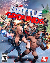 WWE 2K Battlegrounds Packshot
