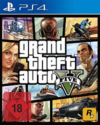 Grand Theft Auto V Packshot