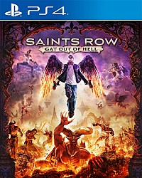 Saints Row: Gat out of Hell Packshot