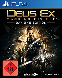Deus Ex: Mankind Divided Packshot