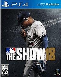 MLB The Show 18 Packshot